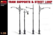 1:35 MINIART TRAM SUPPORTS & STREET LAMPS KIT 35523
