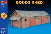 Miniart 1:72 - Goods Shed (Multi Coloured Kit) - MIN72023