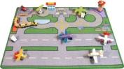 Large Heathwick Airport Playmat (100x75cm) - an air traffic controllers dream!
