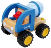 Cement mixer truck wooden toys
