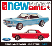 AMT Model Kit - 1966 Ford Mustang Hardtop Car - 1:25 Scale - AMT704 - BRAND NEW