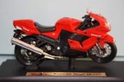 Kawasaki Ninja ZX-14 red - Maisto Motorcycle 1:18