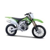 Kawasaki KX 450F in Green / White model kit 1:12 scale