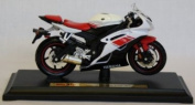 Maisto Motorrad Modell 1:18 Yamaha YZF-R 6 rot / weiY