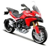 2010 Ducati Multistrada 1200S [Maisto 31188R], Red, 1:12 Die Cast