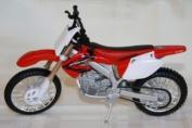 Maisto Motorrad Modell 1:12 Honda CRF 450 R rot