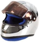 Chromed Helmet F1 Driver in Chrome Effect (1:2 scale) Diecast Model