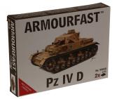Armourfast 1/72 German Panzer IV D Tank Model Kit - Contains 2 Tanks