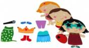 Meadow Kids Fancy Dress Bath Sticker Set
