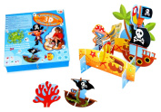 Meadow Kids Treasure Island 3D Scene