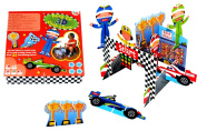 Meadow Kids Racing Track 3D Scene
