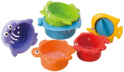 Babysun PG2390 Bath Toy Set Sieves in Sea Creature Designs