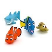 Finding Nemo Rubber Bath Toys - Nemo, Bruce, Dory & Squirt