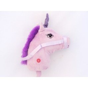 Kids Hobby Horse or Unicorn with Galloping Neighing Sounds Childrens Toy