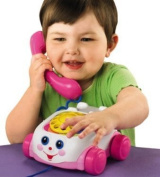 Fisher Price Pink Chatter Phone Telephone