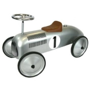 Great Gizmos Classic Racer Ride-On - Silver