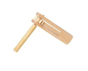 Wooden rattle,
