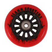 Slamm Pro Scooter Nylon Core Wheel and bearings - Red