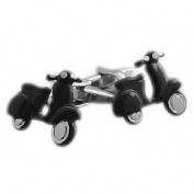 High Quality Scooter Cufflinks - Black