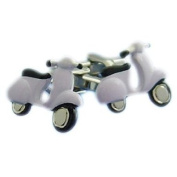 High Quality Scooter Cufflinks - Lilac