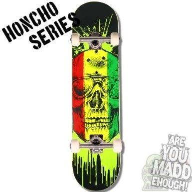69a5af3437 Madd Gear MGP Honcho Series Complete Skateboard - Rasta