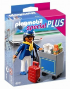 Playmobil - Flight Attendant with Service Cart 4761