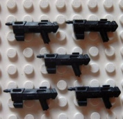 Little Arms Weapons - 5x DC-17 ( 5 DC17 ) for e.g. Lego Star Wars Clone [Toy]