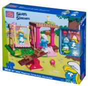 Mega Bloks Smurfs Playground Building Playset