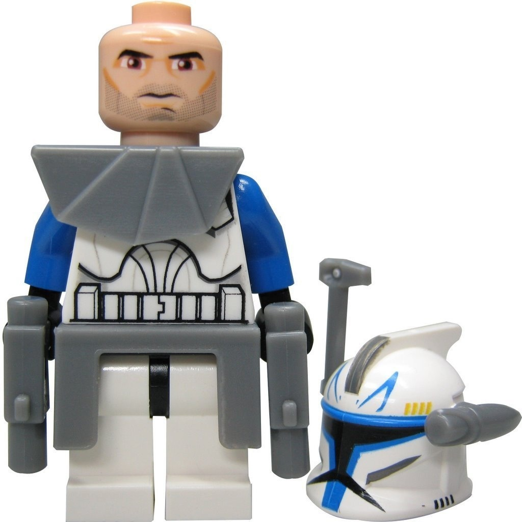 Lego Star Wars Figur Captain Rex Clone Wars From Set 7675 By