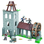 Mega Bloks Pirates of the Caribbean Water Wheel Duel Playset