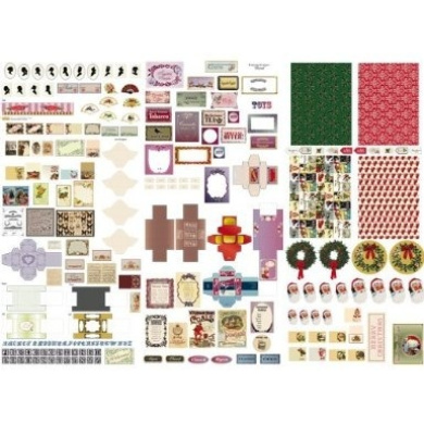 The Dolls House Emporium Victoriana Cut-out Sheet