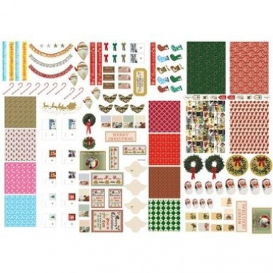 The Dolls House Emporium Christmas Cut-out Sheet