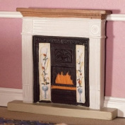 The Dolls House Emporium White Victorian Fireplace