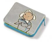 Great Gizmos NICI Jolly Mäh - Sheep 'Jolly Logan' Plush Wallet 12x9.5cm