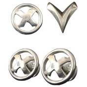 X-MEN THE LAST STAND REPLICA CUFFLINKS AND PIN SET LIMITED TO 600 LIMITED EDITION
