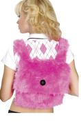 Fur Back Pack by Roma Costume