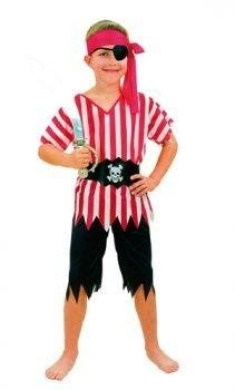 Pirate Costume 7-9 Year Old