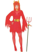Sexy Devil Fancy Dress Costume (adult size 12-14) [Toy]