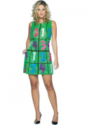 Sudoku Dress - Adult Fancy Dress Costume