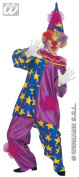 Star Clown - Adult Fancy Dress Costume