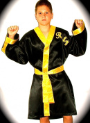 Rocky boxing robe-childrens size 8-12 years