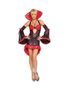 Ladies 2Pc Elegant Vampire Fancy Dress by Roma Costume 10-12 UK