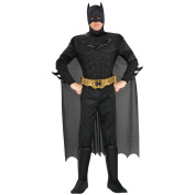 BATMAN ~ The Dark Knight (Muscle Chest) - Adult Costume Men : LARGE