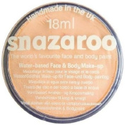 Snazaroo Face and Body Paint, 18ml, Individual Colour, Classic, Peach