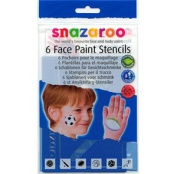 Amscan International Snazaroo Re-Use Stencils Boys