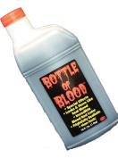Bottle Of Fake Blood 0.5L Halloween Face & Body Kit Dracula Vampire Fancy Dress