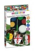 Snazaroo Football Supporters Face Paint Kit