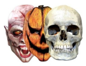 Horror Mask Pack - Pumpkin & Vampire & Skull Masks