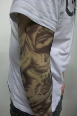 Fake Tattoo Sleeve - Male/Female Design (T15)