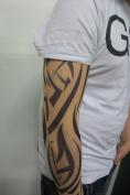 Fake Tattoo Sleeve - New Tribal Design